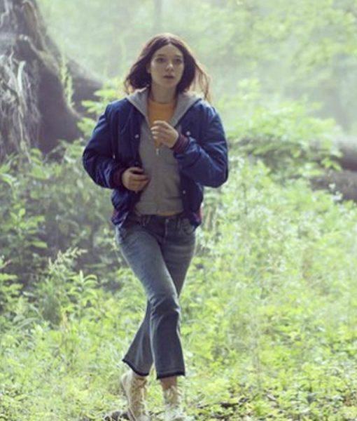 Hanna Esme Creed-Miles Blue Jacket