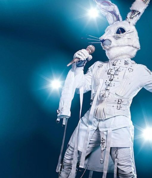 White Rabbit The Masked Singer Joey Fatone Jacket