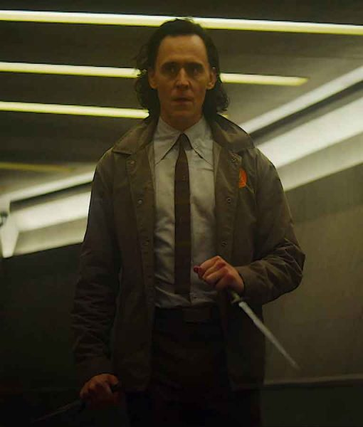 Loki 2021 Brown Jacket