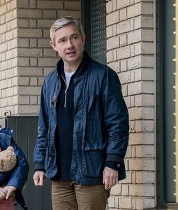 Martin Freeman Breeders Bomber Paul Jacket