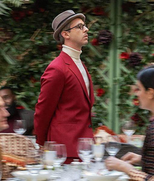 The Gentlemen Matthew Red Suit
