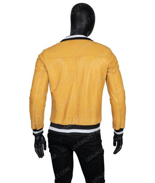 Love, Victor Yellow LeatherJacket