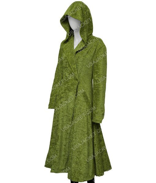 The Undoing Grace Sachs Green Long Coat