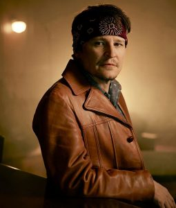 Perpetual Grace LTD Damon Herriman Brown Leather Coat