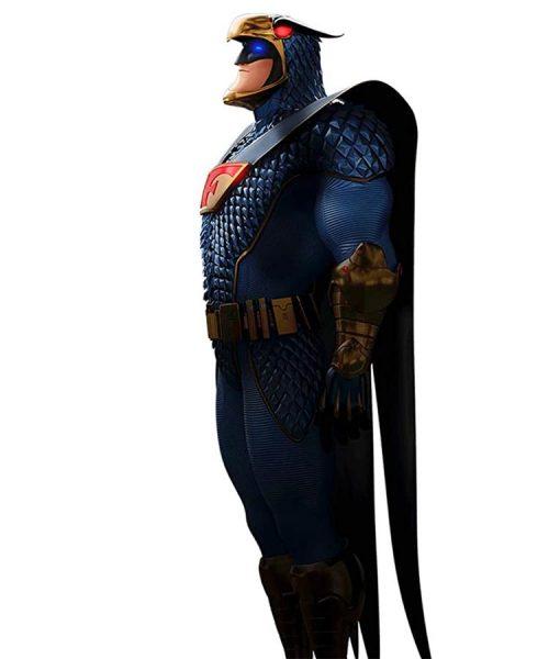Mark Wahlberg Scoob Falcon Leather Jacket