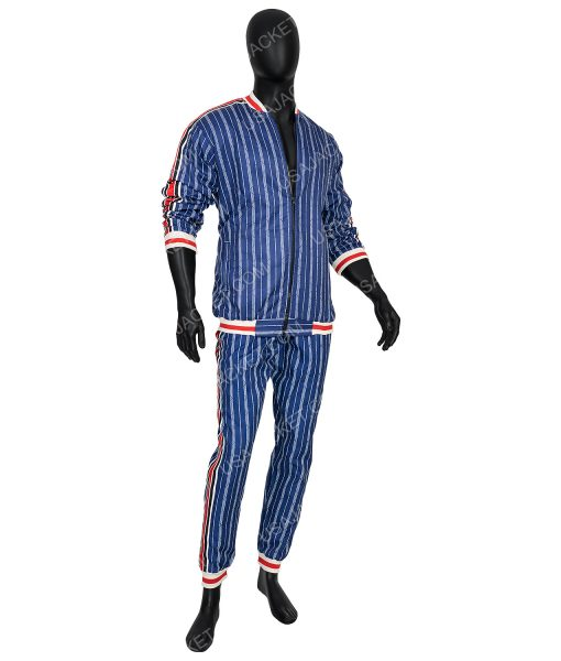 The Gentlemen Coach Blue Lining Tracksuit