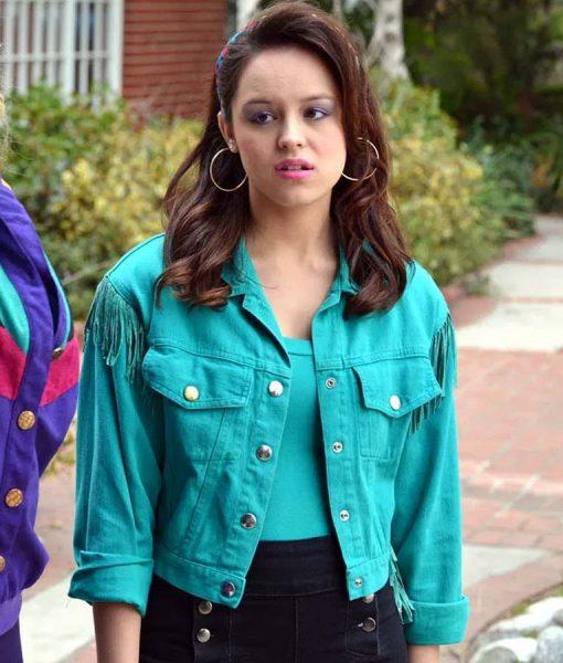 The Goldbergs S07 Erica Goldberg Fringed Jacket