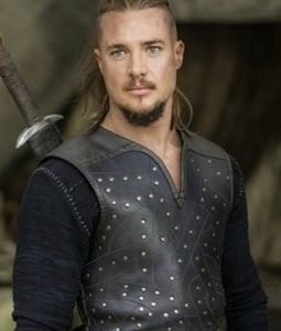 The Last Kingdom Alexander Dreymon Leather Vest With Studs