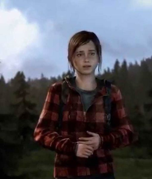 The Last Of Us Ellie Flannel Hoodie