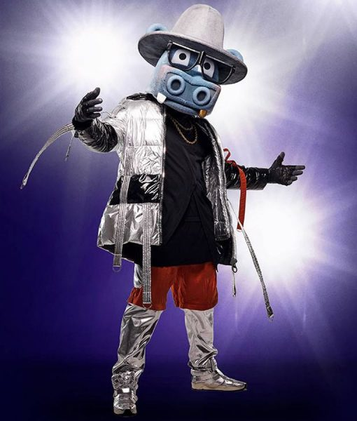 The Masked Singer Hippo Antonio Brown Puffer Jacket With Hood