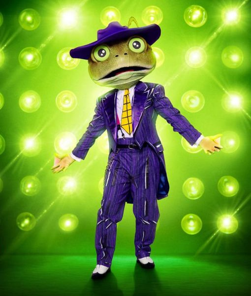 The Masked Singer Season 03 Bow Wow Frog Suit