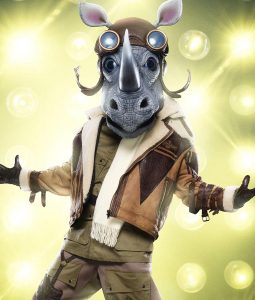 The Masked Singer Season 03 Barry Zito Rhino Jacket