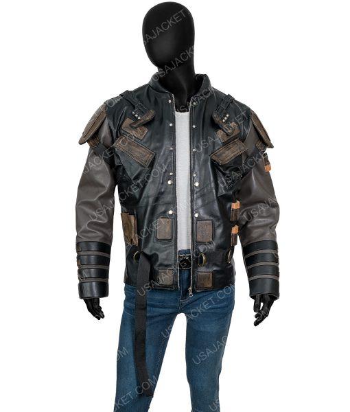 The Suicide Squad 2 Leather Blackguard Jacket