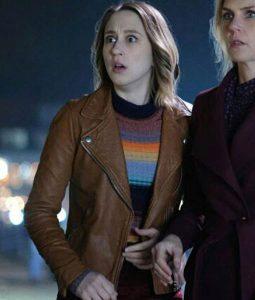 The Twilight Zone Martha Leather Jacket