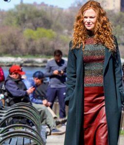 The Undoing Nicole Kidman Black Trench Coat