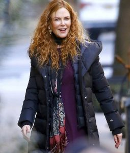 The Undoing Nicole Kidman Puffer Coat With hood