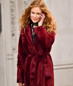 Nicole Kidman The Undoing Velvet Coat