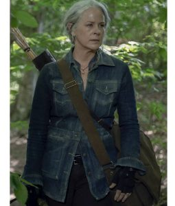 The Walking Dead Season 10 Denim Carol Jacket