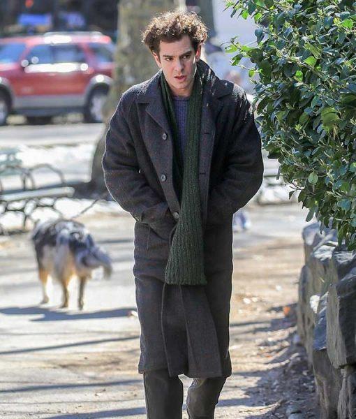 Andrew Garfield Tick, Tick...Boom Jon Coat