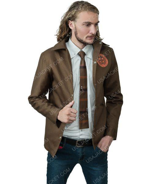 Tom Hiddleston Loki 2021 Brown Jacket