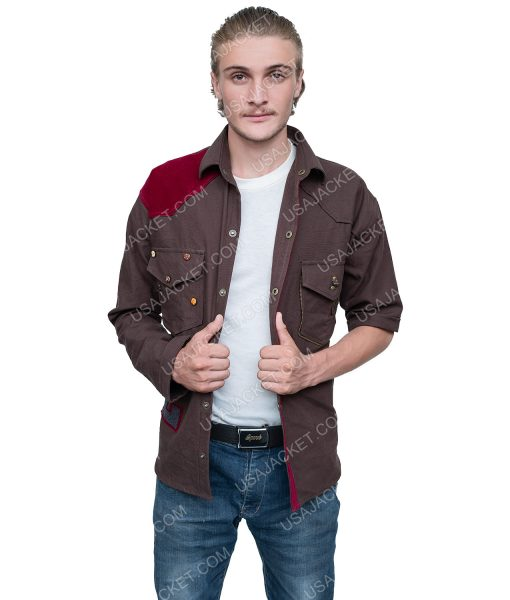 Zombies 2 Brown Denim Zed Jacket