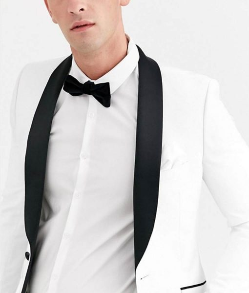 13 Reasons Why Justin Foley White Tuxedo