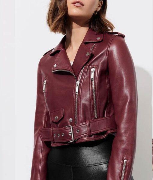 13 Reasons Why S04 Alisha Boe Jessica Davis Moto Jacket
