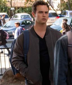 13 Reasons Why S04 Justin Foley Bomber Jacket