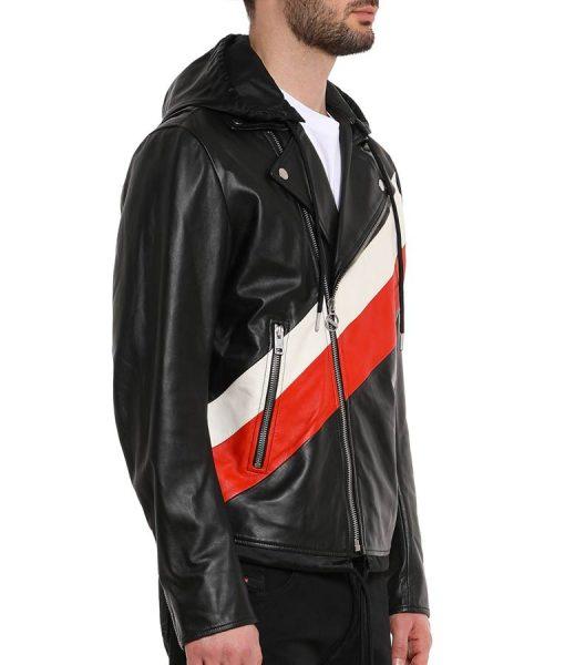 13 Reasons Why S04 Zach Dempsey Leather Biker Jacket