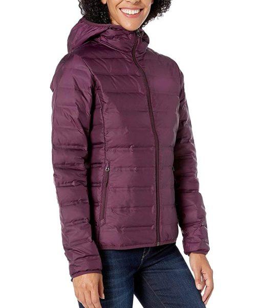 Alisha Boe 13 Reasons Why Season 04 Jessica Davis Puffer Jacket With Hood