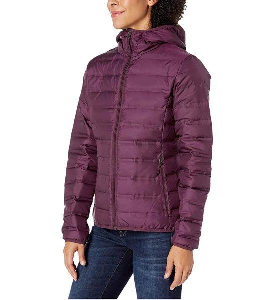 13 Reasons Why Season 04 Jessica Davis Puffer Hooded Jacket