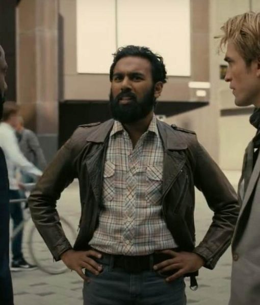 Ahmad Tenet Himesh Patel Brown Leather Jacket