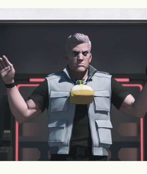 Ghost In The Shell Sac_2045 Vest