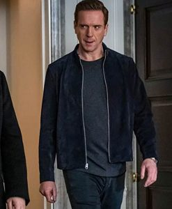 Billions Season 05 Bobby Axelrod Suede Leather Jacket