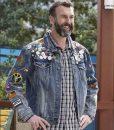 Black-ish Jeremy Denim Jacket With Patches
