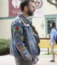 Black-ish Jeremy Denim Jacket With Patches