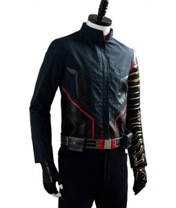 The Falcon and the Winter Soldier Bucky Barnes Battle Uniform Jacket