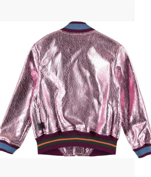 Cameron Wrather Coop and Cami Ask The World Bomber Jacket