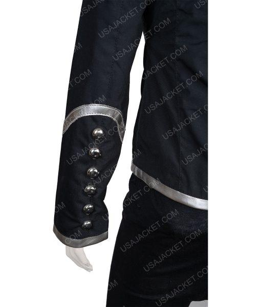 Clearance Sale Black Parade Female Black Cotton Jacket Small Size
