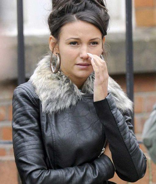 Coronation Street Michelle Keegan Leather Jacket