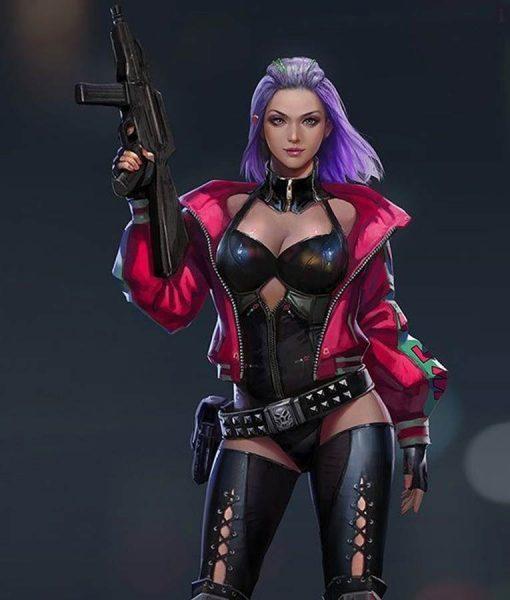 Cyberpunk 2077 Kira Madroxx Cropped Jacket