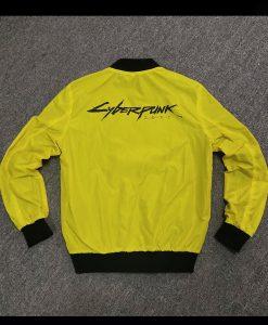 Cyberpunk 2077 Samurai V Yellow Bomber Jacket