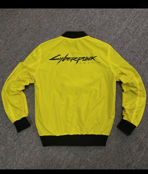 Cyberpunk 2077 Samurai V Yellow Jacket