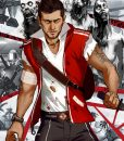 Cliff Calo Dead Island 2 Red Vest With Hood
