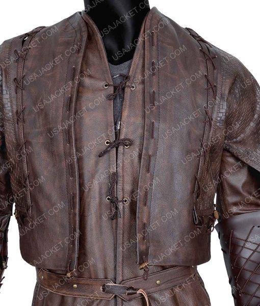 Devon Terrell Cursed Leather Jacket