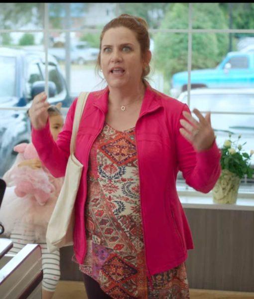 Donna Lynne Champlin Feel The Beat Pink Jacket