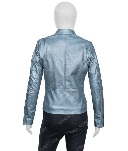 Eurovision Song Contest The Story Of Fire Sigrit Ericksdottir Leather Jacket