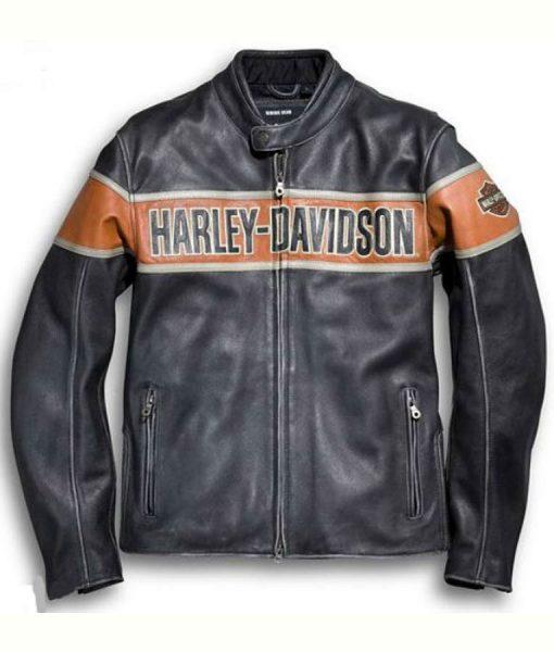 Harley Davidson Victory Lane Leather Jacket