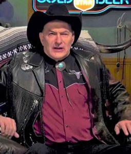 The Last Drive In Joe Bob Briggs Fringe Jacket