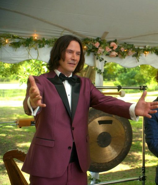 Keanu Reeves Bill And Ted Face The Music Logan Suit